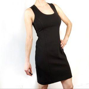 Banana Republic Black Fitted Dress